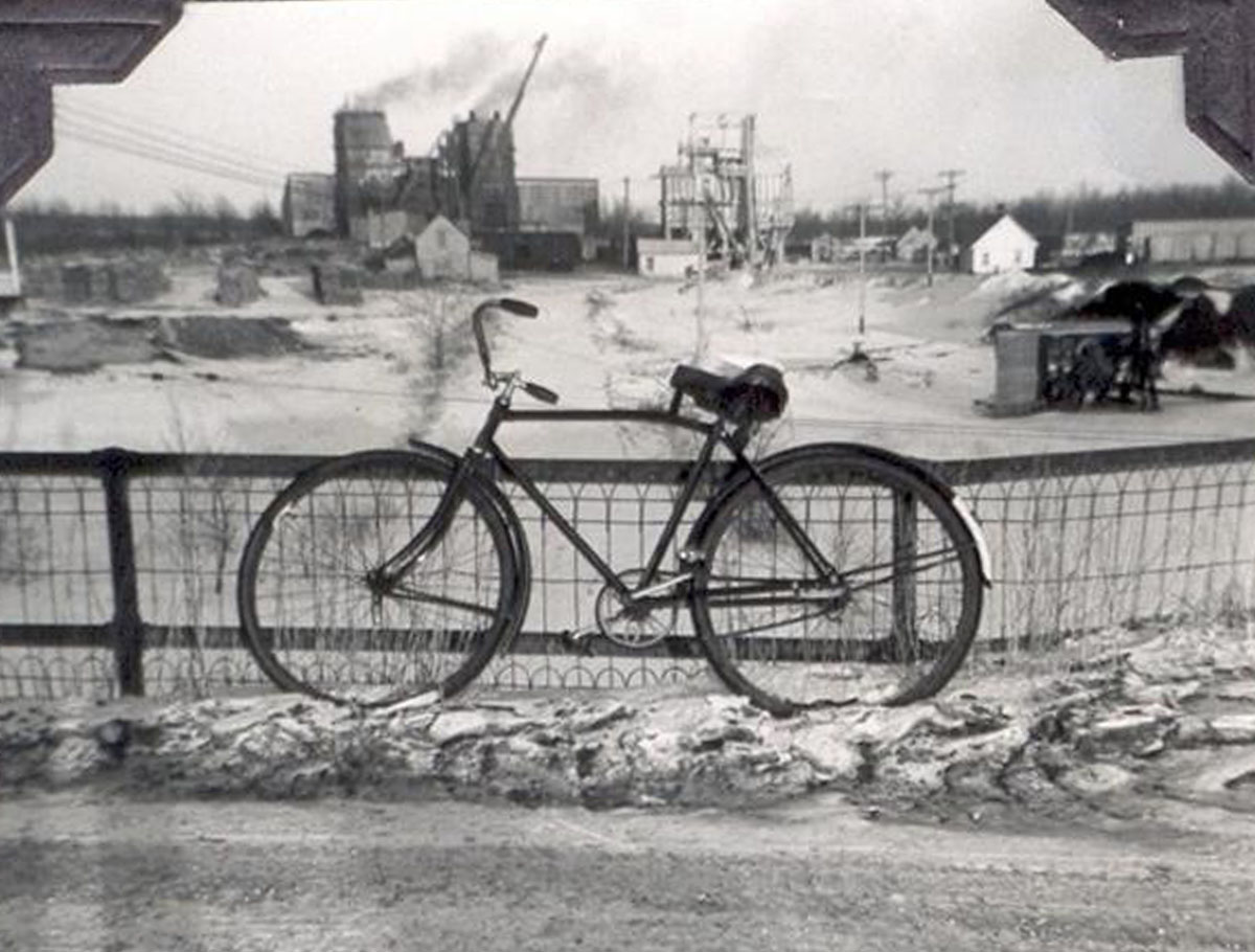 Bicycle in the Quarry