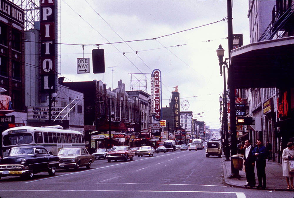 Granville Strip in the 60's